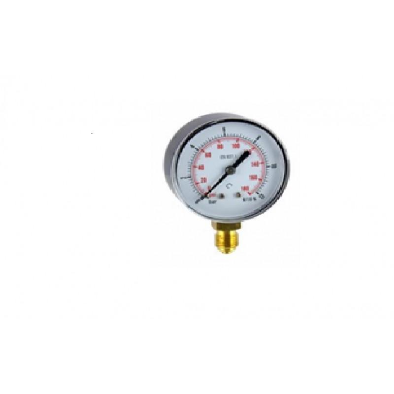 Manometru radial D100 filet G1/2 - MN65100