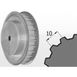 Roata dintata 40AT10 pentru curea cu latimea de 25 mm