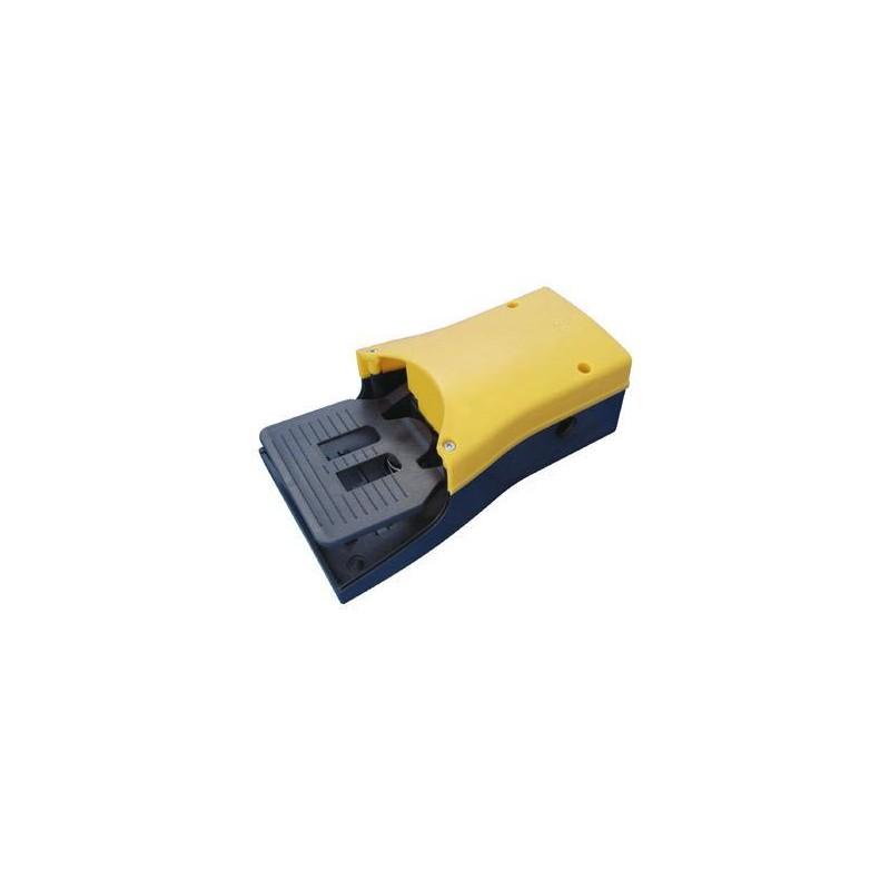 Pedala pneumatica cu valva 5/2, alimentare aer G1/4, fara protectie, valva in interior