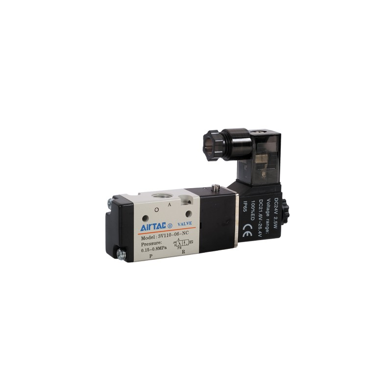 3V210 Distribuitor Monostabil Seria 200 Schema 3/2