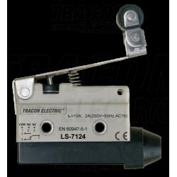 LS7124 Limitator cursa cu tija,arc si rola articulata