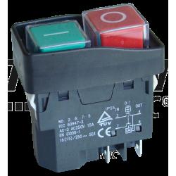 SSTM-03 Întrerupător de siguranţă cu releu, miniatură, înclichetabil
