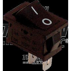 TES-34 Întrerupător pentru aparate, P-O, negru