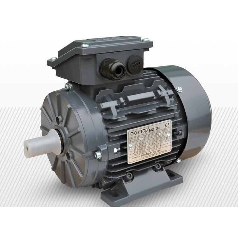 Motor 3f 0,37kW 2800rpm | T1A 063C-2 B3 alu IE1