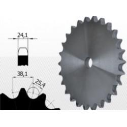 24B-2 Roata dubla dintata disc pentru lant