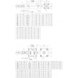 Cilindri pneumatici ø80  ISO 15552