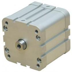 Ø63 Cilindri pneumatici compacti, dublu efect, magnetic, neamortizat