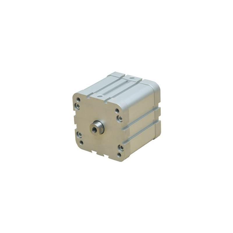 Ø80 Cilindri pneumatici compacti, dublu efect, magnetic, neamortizat