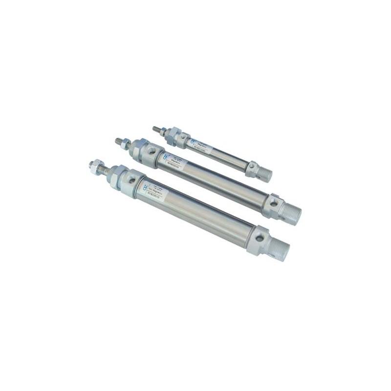 ø10 Cilindri pneumatici rotunzi ISO 6432 M21M2, magnetici, dublu efect, neamortizat