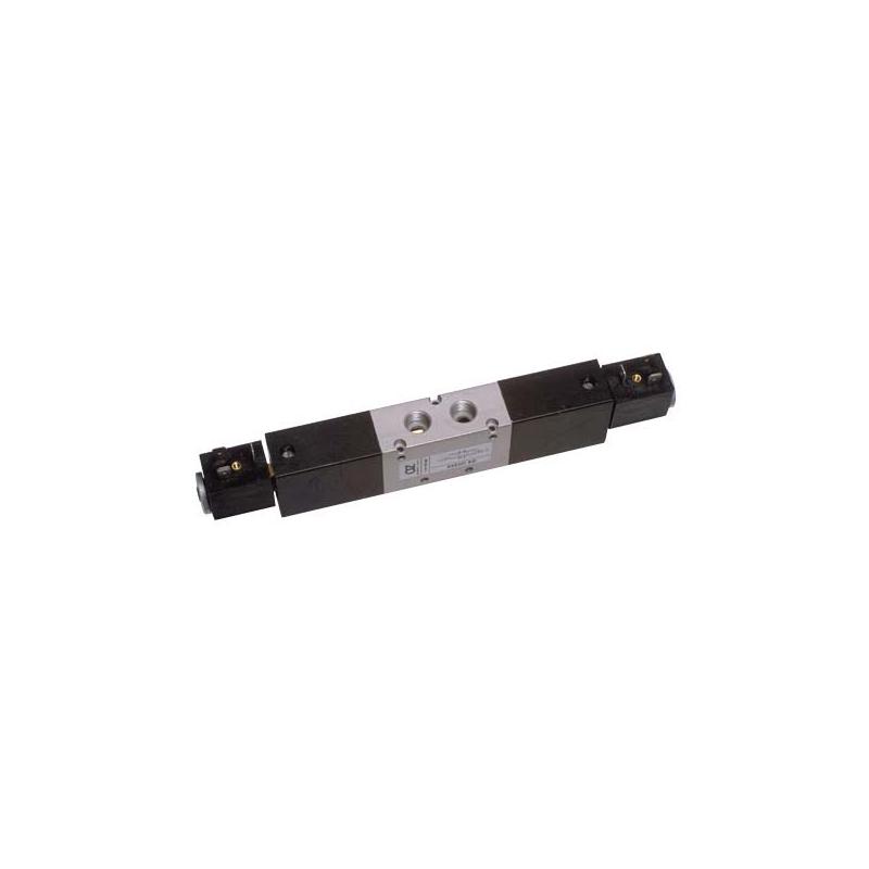 G1/4 Electroventil 5/3, centrul inschis, cu doua bobine