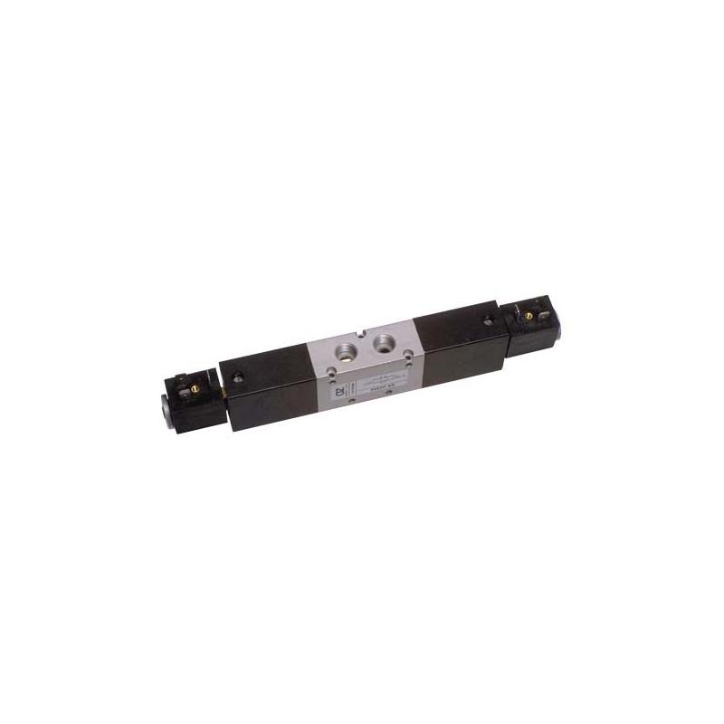 G1/4 Electroventil 5/3, centrul deschis, cu doua bobine