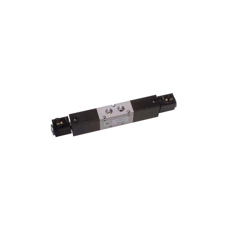 G1/4 Electroventil 5/3, centrul sub presiune, cu doua bobine