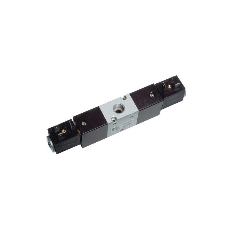 G1/4 Electroventil 3/2, bistabil, actionat electric cu 2 bobine, revenire electro-pneumatica diferentiala