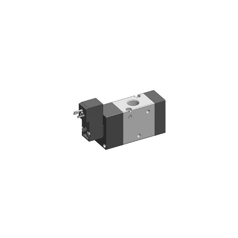 G1/4 Electroventil 3/2, monostabil, actionat electric cu 1 bobina, pilot 15mm, revenire arc