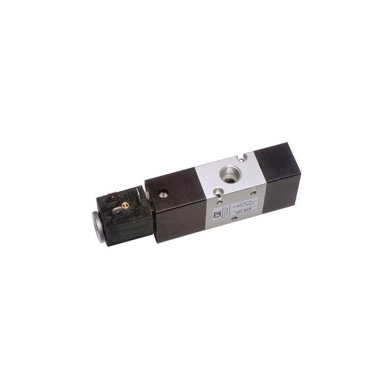 G1/4 Electroventil 3/2, monostabil, actionat electric cu 1 bobina, revenire pneumatica