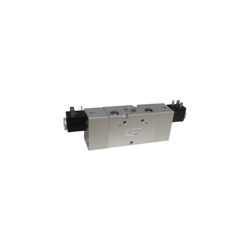 Electroventil 3/2, bistabil, actionat electric cu 2 bobine, revenire electro-pneumatica 324 EE