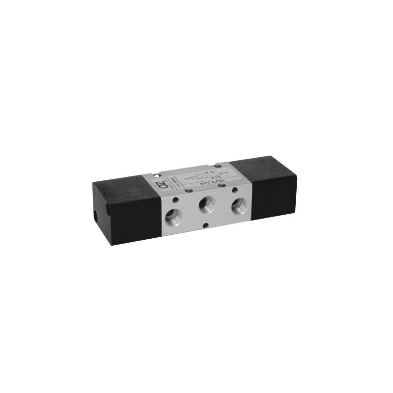Ventil 5/2, bistabil, actionat dublu pneumatic diferential