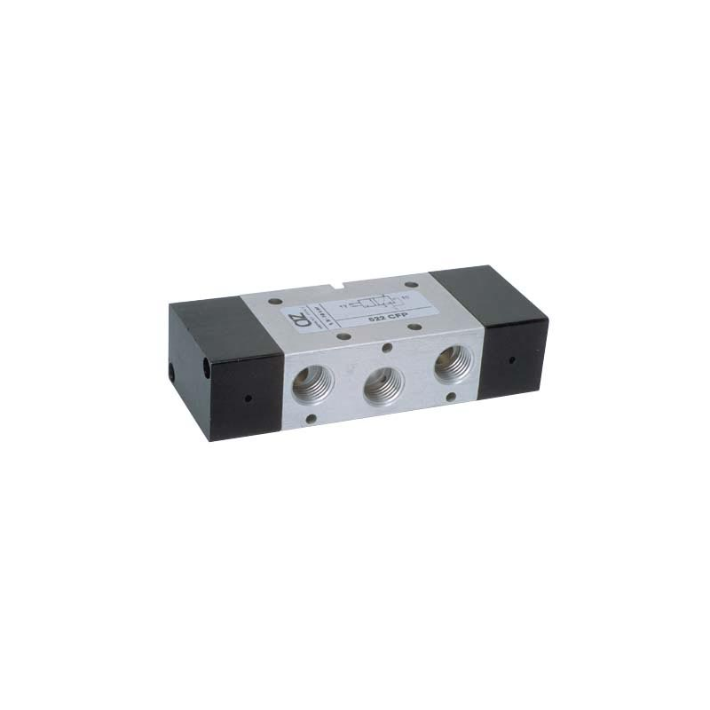 G1/4 Ventil 5/2, bistabil, actionat pneumatic, revenire pneumatica