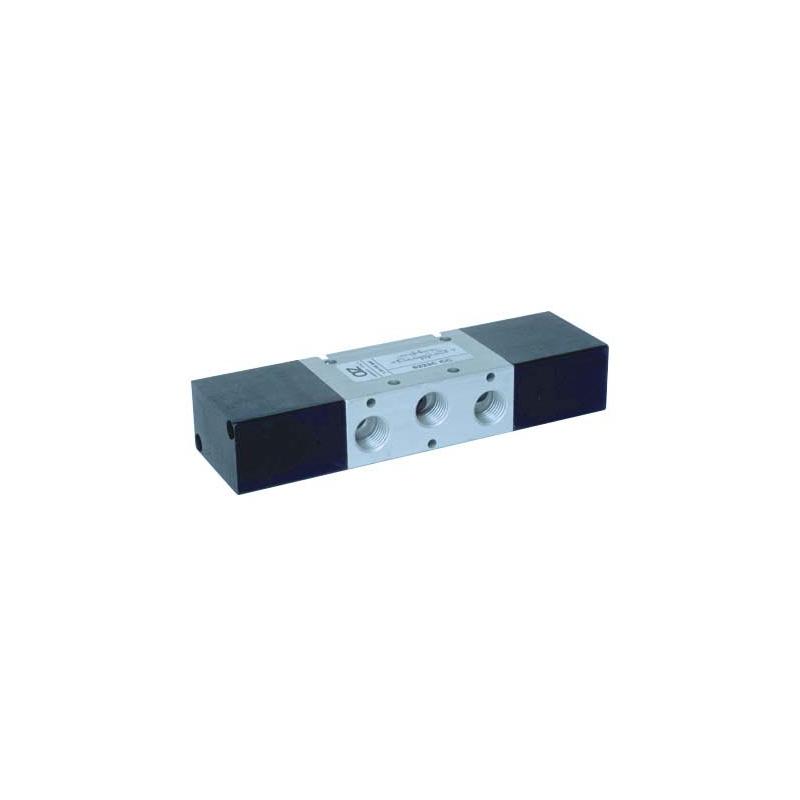 G1/4 Ventil 5/3, actionat pneumatic centrul inchis
