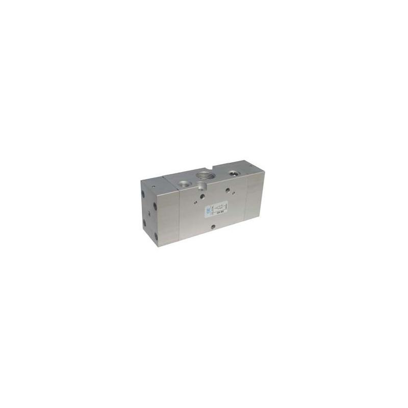 G1/2 Ventil 5/3, actionat pneumatic centrul deschis