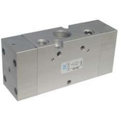 G1/2 Ventil 5/3, actionat pneumatic centrul sub presiune