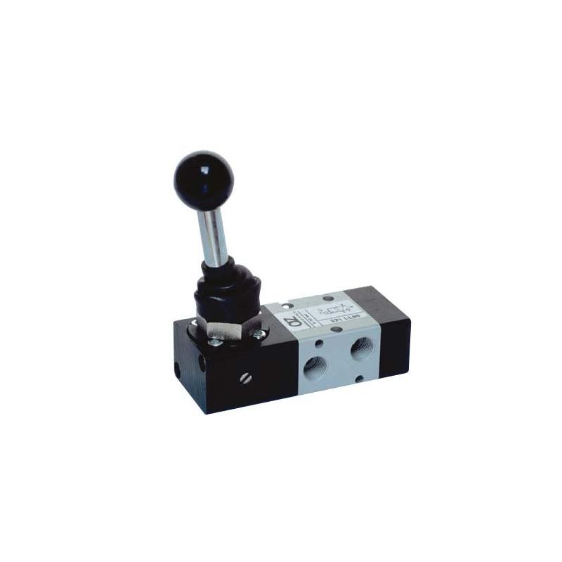 G1/8 Distribuitor bistabil, levier 90°