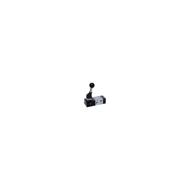 G1/8 VENTIL PNEUMATIC MANUAL, LEVIER 90°,REVENIRE CU ARC