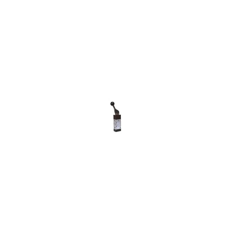 G1/8 Distribuitor levier in cap, bistabil