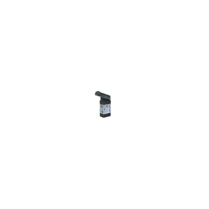 G1/8 22mm Distribuitor actionat mecanic, levier cu rola, revenire arc