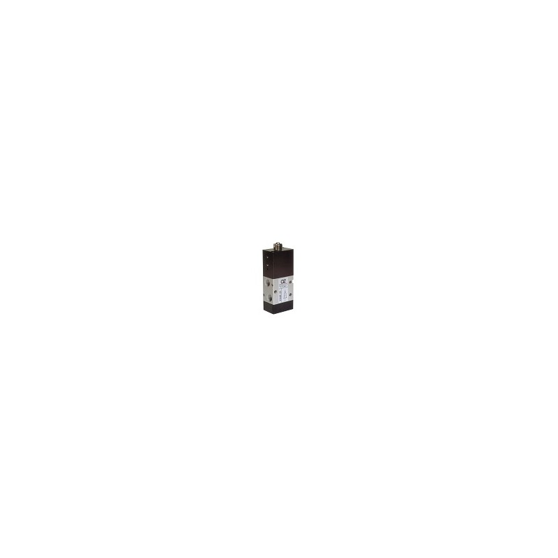 G1/8 22mm Distribuitor actionat mecanic buton, servopilotat